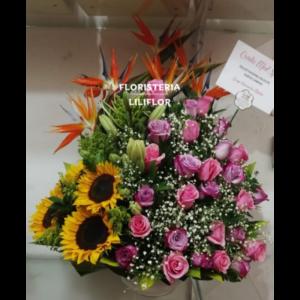 arreglos florales para enviar a Bucaramanga